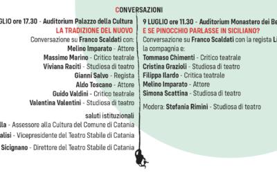 Per il debutto di Pinocchio, due conversazioni su Franco Scaldati